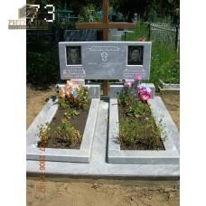 Памятник из мрамора 73 — ritualum.ru