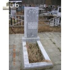 Памятник из мрамора стандарт 66 — ritualum.ru